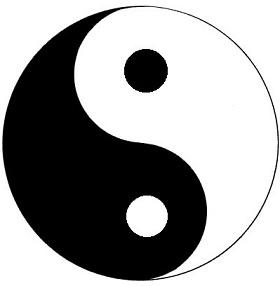Symbole taoïste du yin et du yang